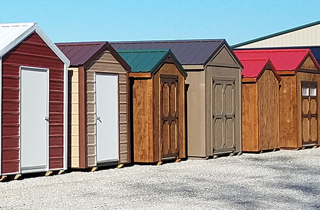 Yoders Dutch Barns Metal Roofing Storage Sheds