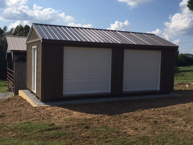 portable garage buildings