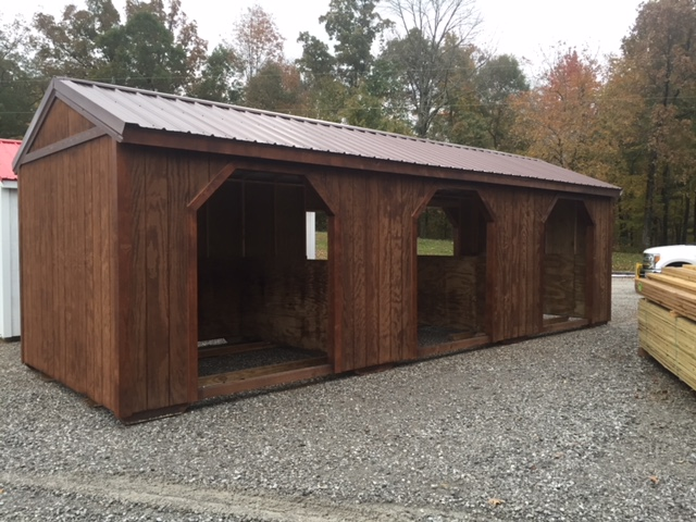 Portable Horse Barns Prebuild Horse Run Ins Yoders