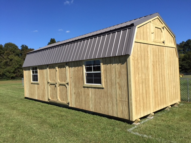 Lofted Barn Storage Shed Buildings