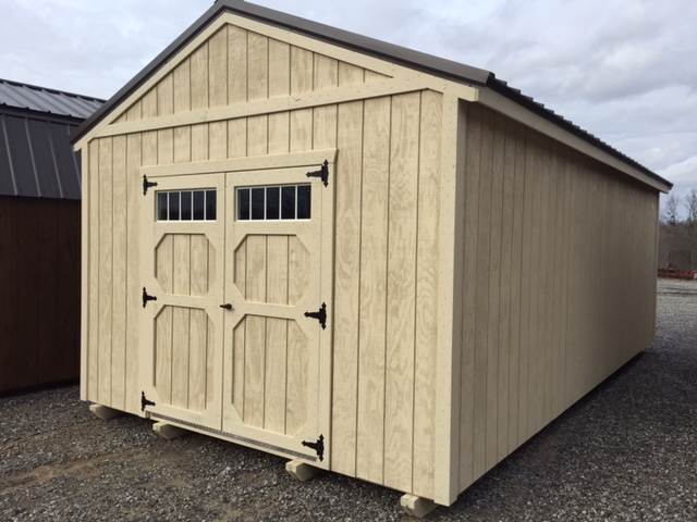 portable wood storage shed
