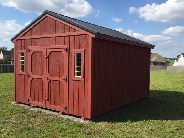 Portable Storage Buildings Wood And Metal Storage Sheds