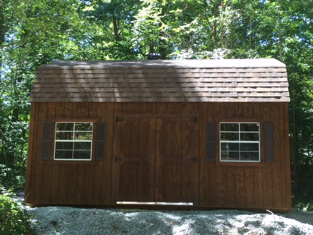lofted barn storage shed building