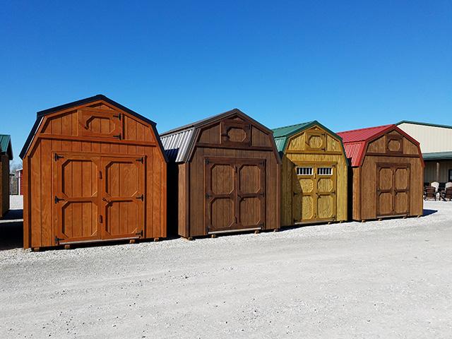 Lofted Barn Sheds Yoders Dutch Barns