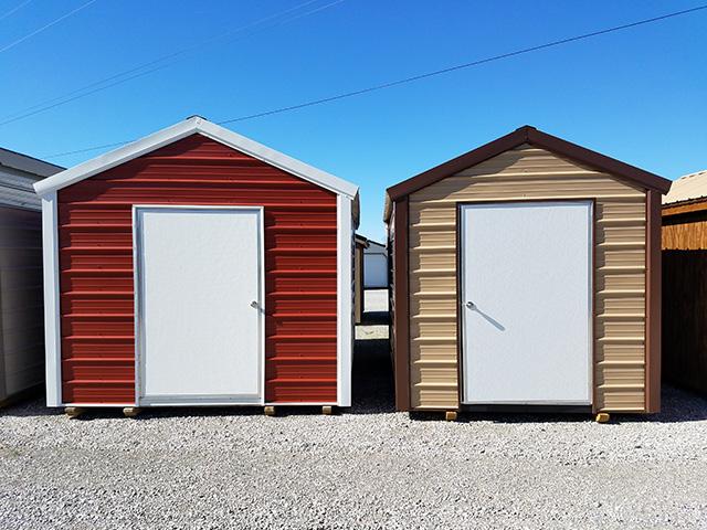 metal utility sheds