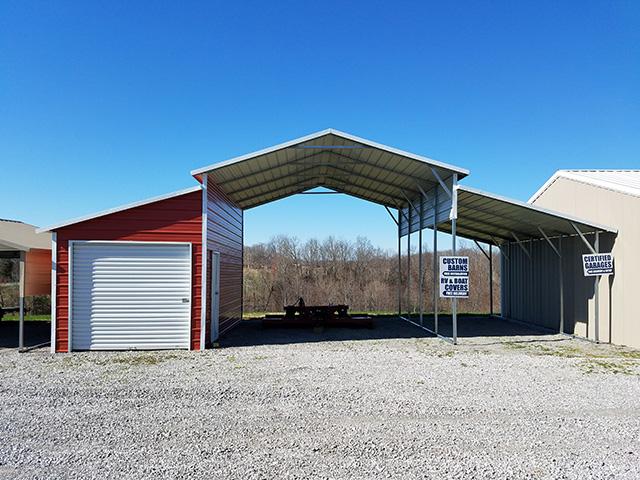 Portable Metal Garages | Metal Carports | Custom Workshops ...