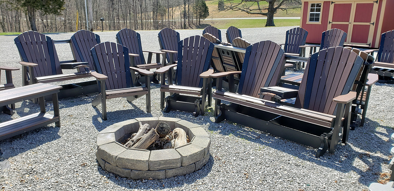 poly outdoor patio furniture
