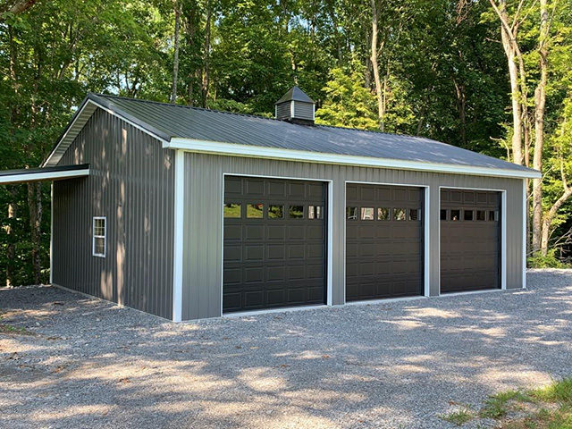 custom garage builder