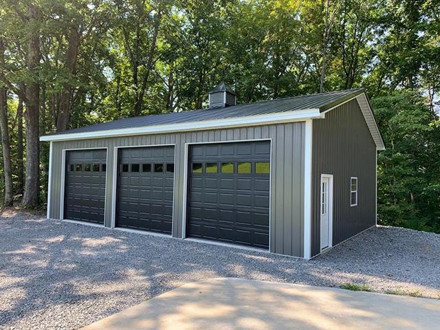 custom garage builder